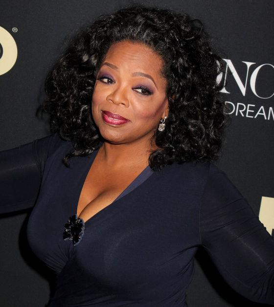 Horny Oprah boob pics Really